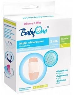 Wielorazowe majtki poporodowe BabyOno (2szt.) - 503