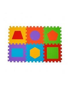 Puzzle piankowe BabyOno 6szt. - Figury