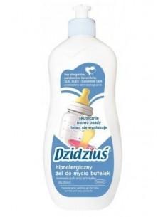 Hipoalergiczny żel do mycia butelek niemowlęcych oraz artykułów dla dzieci Dzidziuś (500ml)