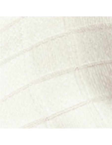 Otulacz bambusowy -pieluszka 120x120cm Texpol - clas. ecru