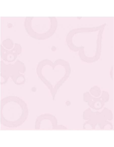 Otulacz bambusowy -pieluszka 120x120cm Texpol - sweet róż