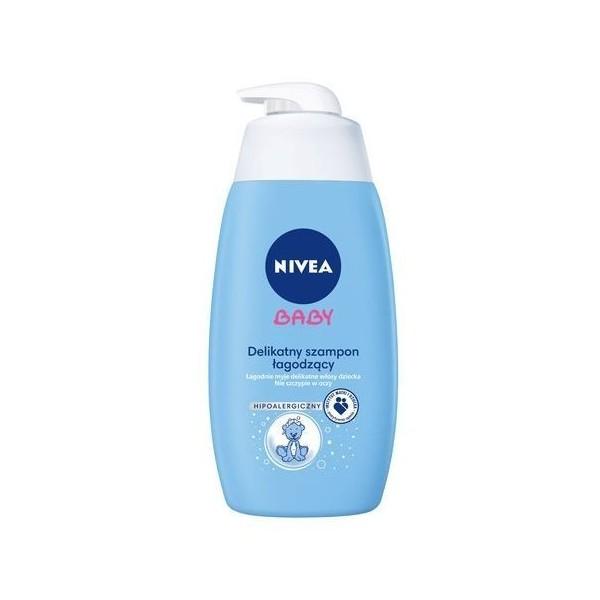 Delikatny szampon łagodzący Nivea Baby (500ml)