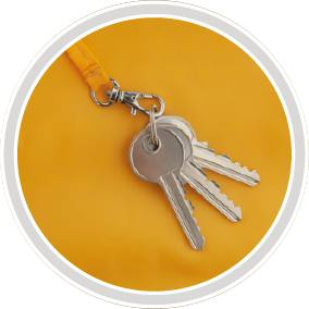 karabińczyk na klucze